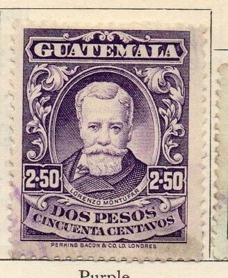 Guatemala 1925 Early Issue Fine Used 2.50P. 108053