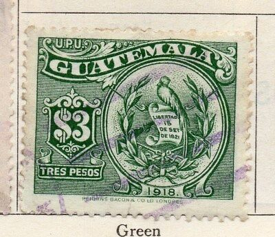 Guatemala 1925 Early Issue Fine Used $3. 108054