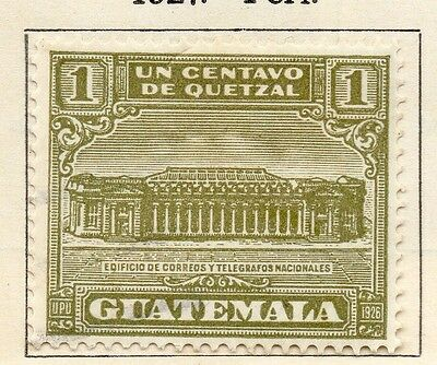 Guatemala 1925 Early Issue Fine Mint Hinged 1c. 108064