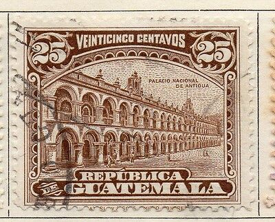 Guatemala 1925 Early Issue Fine Used 25c. 108097