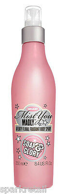 Soap and Glory MIST YOU MADLY Floral Perfumed Body Spray 250ml Scented Body Mist
