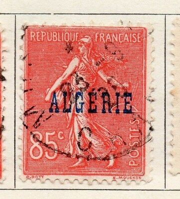 Algeria 1924-26 Early Issue Fine Used 85c. Optd 106864