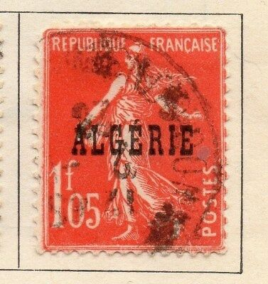 Algeria 1924-26 Early Issue Fine Used 1F.05c. Optd 106866