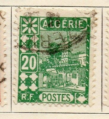 Algeria 1926-27 Early Issue Fine Mint Hinged 20c. 106875