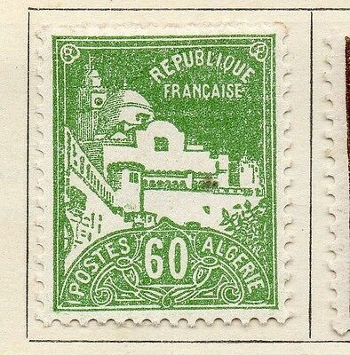 Algeria 1926-27 Early Issue Fine Mint Hinged 60c. 106885