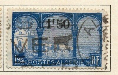 Algeria 1927 Early Issue Fine Used 1F.50c. Surcharged 106902