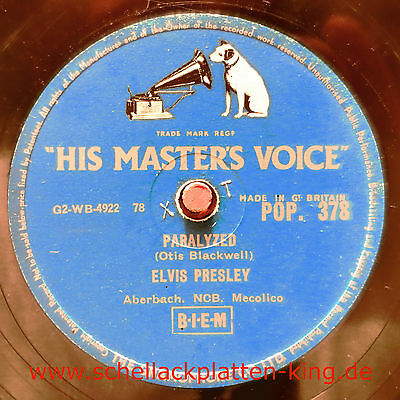 Elvis Presley / Paralyzed & When My Blue Moon Turns To Gold Again (08-0115A)
