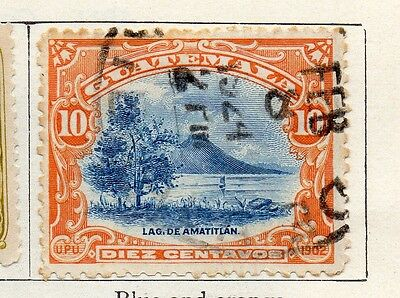 Guatemala 1902 Early Issue Fine Used 10c. 106931