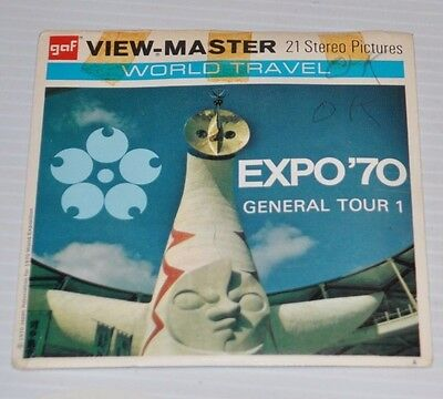 - EXPO 70 General Tour 1 VIEW-MASTER Reels B-268 -
