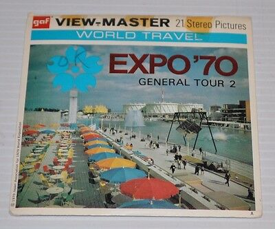 - EXPO 70 General Tour 2 VIEW-MASTER Reels B-269 -