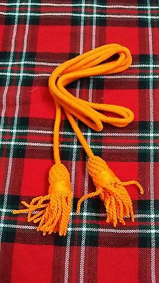 Tc Army Bugle Wool Cord Orange Color/bugle Wool Cord Orange Colors/bugle Cord