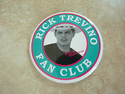 """Rick Trevino Country Music Fan Club Member Round 3"""" Pin Button"""