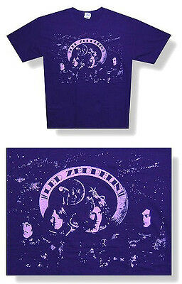"""Led Zeppelin - """"astronauts Jumbo"""" Print T-Shirt - New Large Official"""