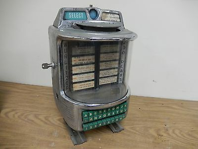 Single Coin Entry 200 Play Wurlitzer Wallbox 5250 for W2200 2250 2300 - 2800