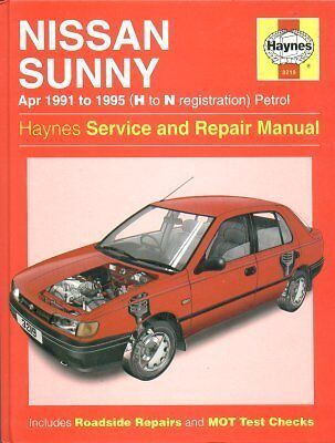 Nissan Sunny ( Incl 100Nx Coupe Mechanics ) 1991 - 1995 Service & Repair Manual