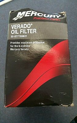 Mercury Marine/Mercruiser  New OEM FILTER-OIL L6SC 35-877769K01