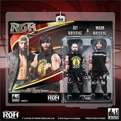 Ring of Honor Wrestling Action Figure Two-Packs: Jay Briscoe & Mark Briscoe