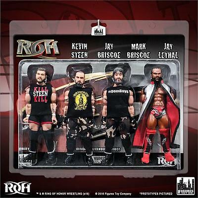 Ring of Honor Wrestling Action Figures Series 1 Four-Pack by Figures Toy Company