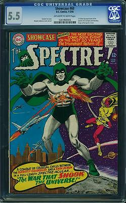 Showcase 60 - CGC 5.5 Off White to White Pages - 1966, 1st Silver Age Spectre