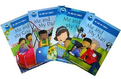 Start Reading Set - Blue Band 4 (4 Books) (Me and My Family) RRP:£19.96