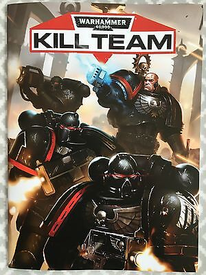 Warhammer 40000 Kill Team Rules - New 32 Page Book for skirmish missions