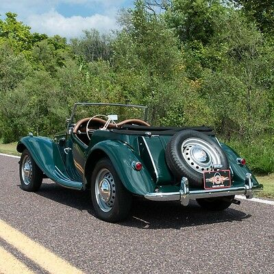1954 MG T-Series MG TF 1954 MG TF Convertible,Thoroughly and professionally restored,1250cc four-cyl