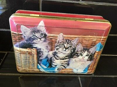 Pascall Cats Kittens Vintage Toffee Australian Collectable Lolly Tin