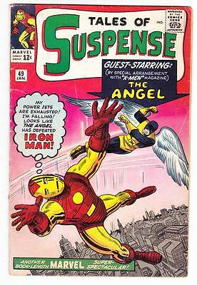 TALES OF SUSPENSE #49 - 1964 - Iron Man by Steve Ditko - X-Men crossover