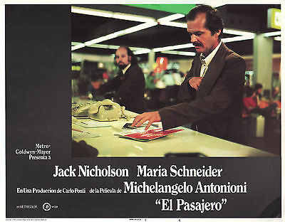 The Passenger 1975 11x14 Lobby Card #6 - spanish title