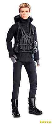 Barbie Collector The Hunger Games: Mockingjay Part 2 Peeta Doll New