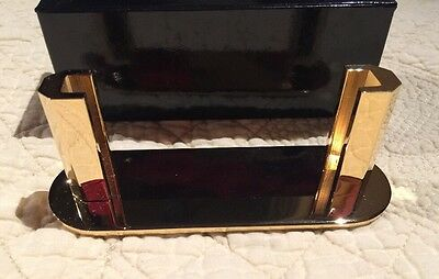 Solid Brass Business Card Holder New