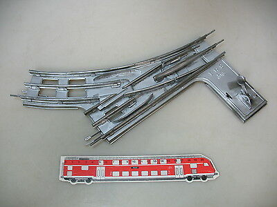 AP772-2# Märklin 1 gauge Manual Points/points for electric Operated: 8-piece