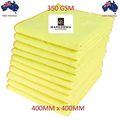 500 x Microfibre Cleaning Cloth Towel Large Size Car & Home Thick & Ultra soft