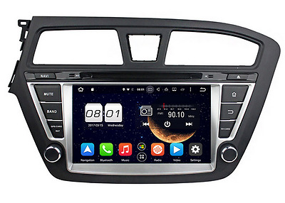 Android 5.1 Quad Core Car stereo DVD Player Gps Navigation For HYUNDAI I20 14-15