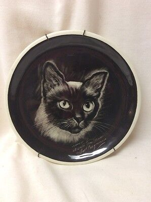 RARE Gorgeous Hand Etched Carl Bergmans Plate Made For Abercrombie & Fitch