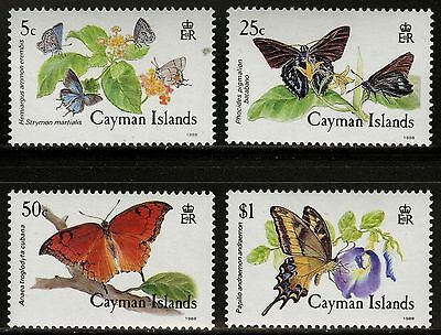 Cayman Islands 1988 Butterflies MNH