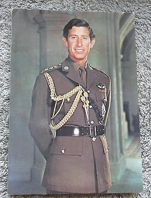 PRINCE CHARLES, PRINCE OF WHALES, IN HIS 20s?, NEW POSTCARD