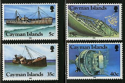 Cayman Islands 1985 Shipwrecks MNH