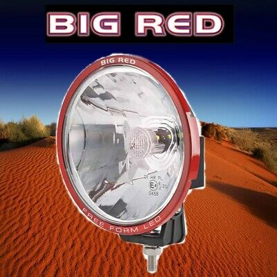 Big Red 180mm Free Form 3 x 10W XML Cree LEDs 6000k Driving Lights BR8990