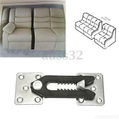 U-Type Metal Iron Sheets Plastic Buckle Sofa Couch Sectional Furniture Connector