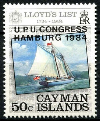 Cayman Islands 1984 UPU MNH