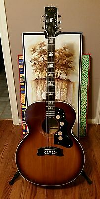 Vintage Global J-200 Jumbo Law Suit Guitar