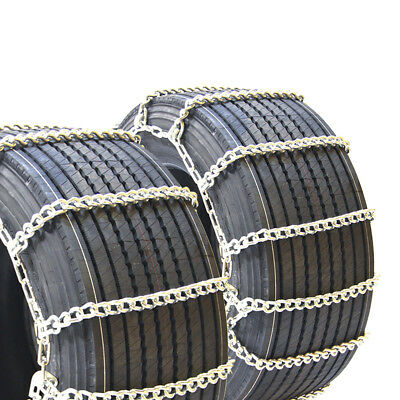 Titan Truck Mud and Snow Off Road Wide Base Link Tire Chains 10mm 285/65R18