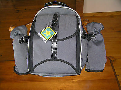 Picnic Backpack 4 Person With Cooler Compartment
