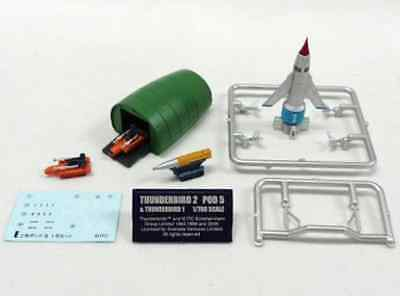 2 Pod5 & T1 - THUNDERBIRDS Mechanic Collection Gerry Anderson by F-toys Japan