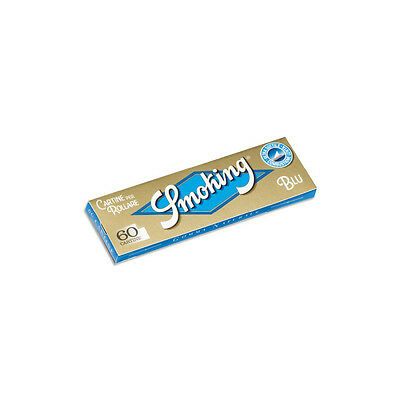 ★3000 Cartine Smoking Blue Regular Corte Ultra Thin 50 Libretti 1 Box★