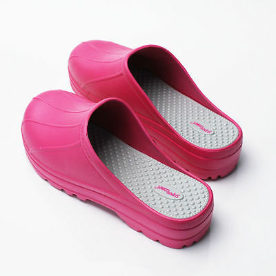 Womens Chef Shoes Slippers Clogs Water Safety Kitchen Non-Slip Comfort US_8 noo