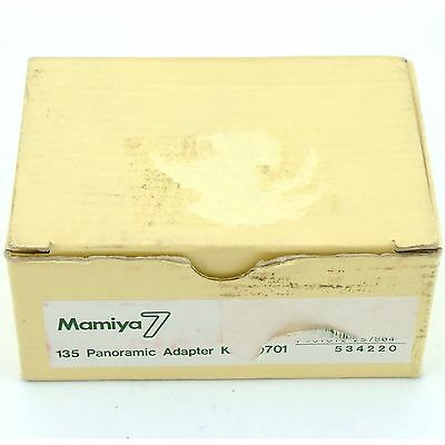 Mamiya 7 135 Panoramic Adapter Kit AD701, boxed, excellent + condition