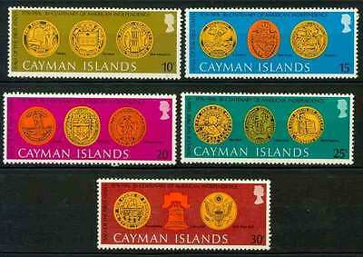 Cayman Islands 1976 Bicentenary of American Revolution MNH