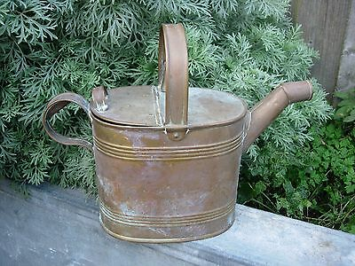 Vintage  Brass Small Watering Can  / Hot Water Can (1024)